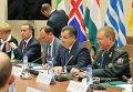 Министр обороны Степан Полторак в Брюсселе на заседании комиссии Украина-НАТО. Архивное фото