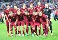 Сборная Россия перед матчем со Словакией