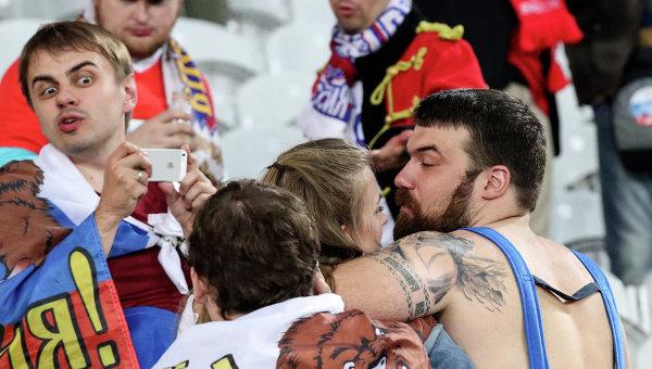 Матч Россия - Словакия