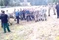 Разборки пьяных резервистов на полигоне под Черниговом. Видео