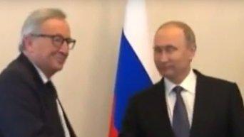 Юнкер: отмена санкции против РФ возможна только при выполнении Минских договоренностей