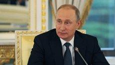 Владимир Путин в Санкт-Петербурге