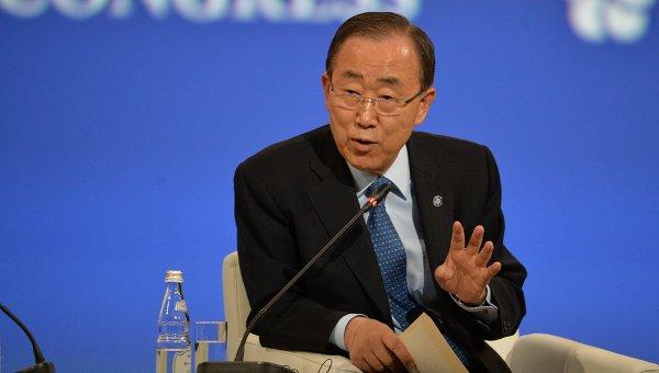 Генеральный секретарь ООН оценил свою работу как «годы прогресса инеудач»