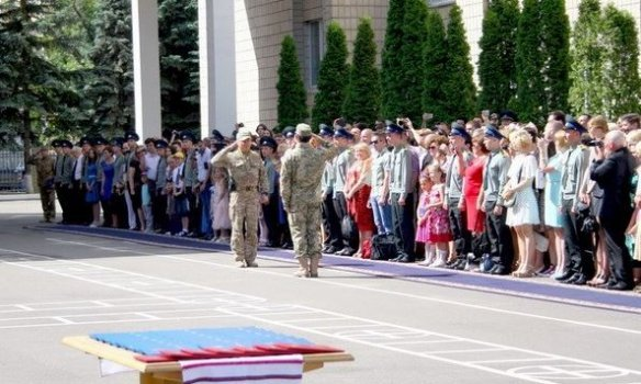 В Киеве прошел выпуск курсантов Национальной академии СБУ