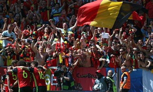Футбол. Чемпионат Европы - 2016. Матч Бельгия - Ирландия