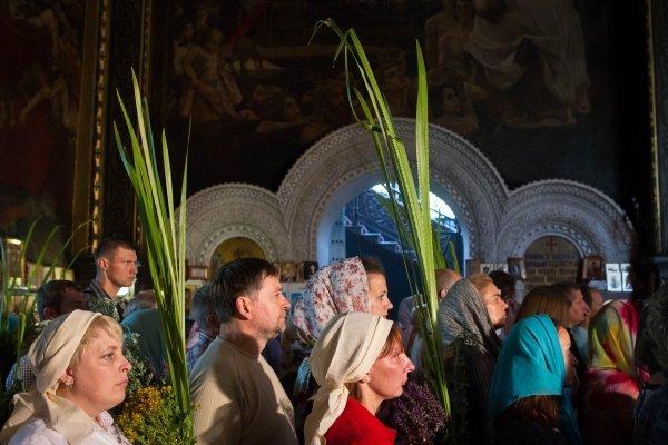 Празднование Троицы во Владимирском соборе в Киеве