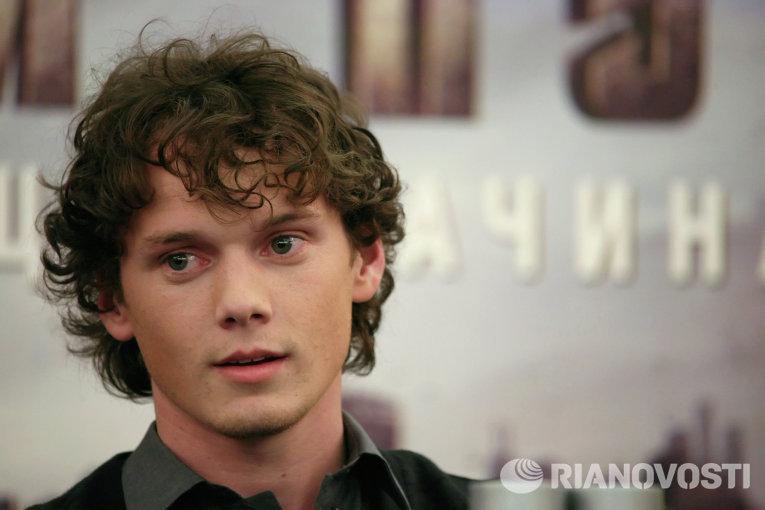 Американский актер Антон Ельчин.