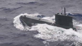Масштабные военно-морские учения НАТО в Средиземном море. Видео