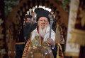 Святейший Патриарх Константинопольский Варфоломей на Всеправославном соборе на Крите
