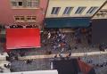 Массовая драка английских и французских фанатов в Лионе. Видео