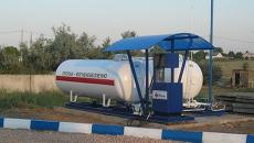 Газовая заправка. Архивное фото