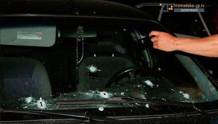 В центре Запорожья произошла стрельба и взрывы