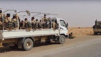 Сирийская армия ведет бои с ИГ за нефтяные поля в Ракке. Видео
