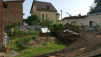 Ураган в Ивано-Франковске