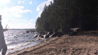 К поискам пропавшего ребенка в Карелии подключили беспитлотники. Видео