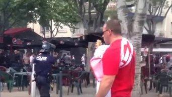 Столкновения украинских и польских фанатов. Видео