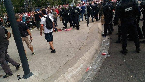 Столкновения украинских и польских фанатов
