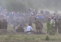 Реконструкция событий 22 июня 1941 года в Брестской крепости. Видео