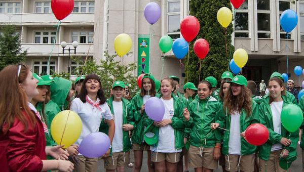 Международный детский центр Артек в Пуща-Водице