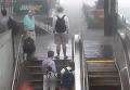Затопление метро Кливленд Парк вашингтонского метро. Видео