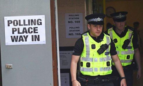 Полиция Великобритании. Архивное фото