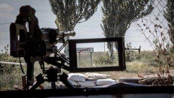 Позиции бойцов батальона Донбасс в Марьинке