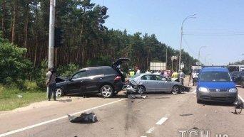 Внук генерала Радченко сбил на Mercedes скутериста в Конче-Заспе