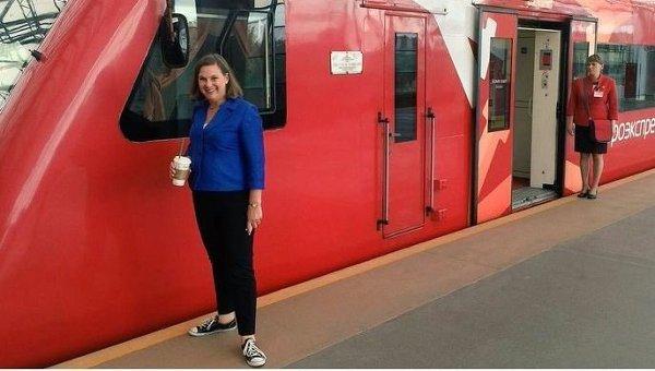 Помощник госсекретаря США Виктория Нуланд в Москве