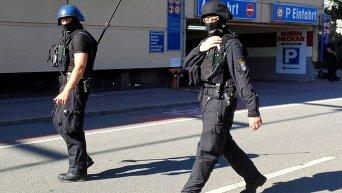 Спецоперация немецкой полиции по ликвидации стрелка в кинотеатре