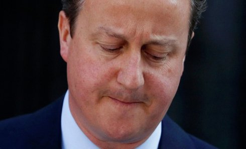 Дэвид Кэмерон выступил с заявлением после итогов референдума в Британии