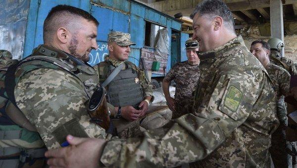 Делаю все, чтобы вражда немешала строить новейшую государство Украину — Порошенко