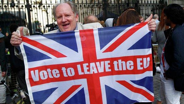 Сторонники выхода Великобритании из ЕС
