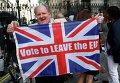 Сторонники выхода Великобритании из ЕС. Архивное фото