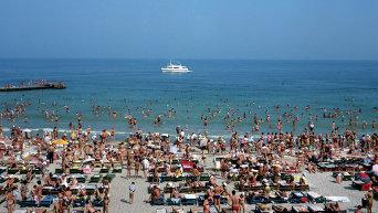 Пляж Аркадия в Одессе. Архивное фото