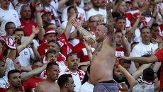 Польские болельщики на Евро-2016