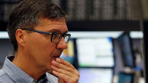 Трейдер, фондовая биржа. Архивное фото