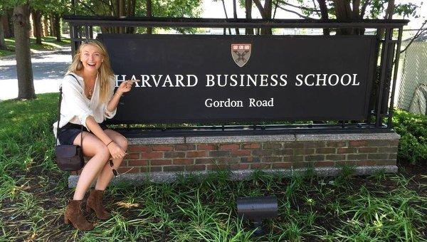 Теннисистка Мария Шарапова поступила в Гарвардскую школу бизнеса