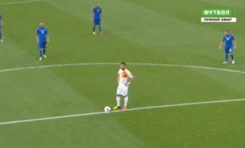 Матч Италия - Испания. Видео