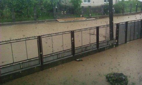 Потоп в Закарпатье