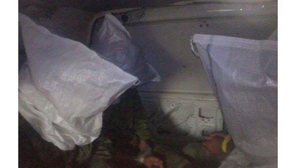 Бойцы АТО показали фото задержанных ополченцев