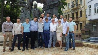 Сакварелидзе и его команда
