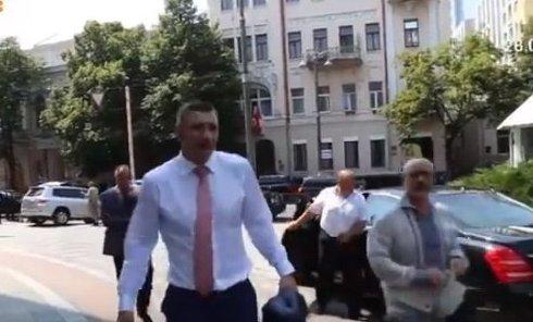 Виталия Кличко не пустили в Раду. Видео