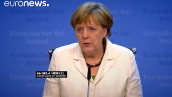 Теракт в Стамбуле: комментарий Олланда и Меркель. Видео