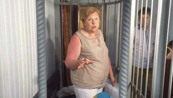 Алла Александровская останется под арестом