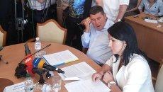 Александр Онищенко и его адвокат