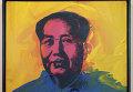 Картина Энди Уорхола Мао