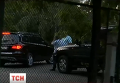 Автомобиль Юлии Тимошенко возле роддома в Киеве, где родила ее дочь Евгения