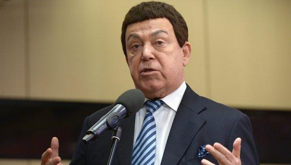 Артист, депутат Государственной Думы РФ Иосиф Кобзон