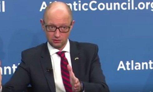 Яценюк обратился к лидерам стран ЕС и США.Видео