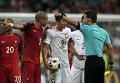 Футбол. Чемпионат Европы - 2016. Матч Польша - Португалия
